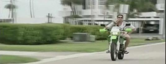 Chibi The Adventurer: Florida Dog Water Skis, Rides Motorcycle
