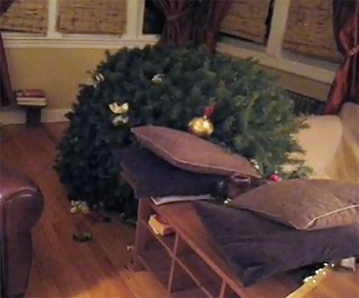 The Bad Dog Blues: Christmas Tree Disaster