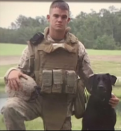 At Home With Eli: Family of Fallen Soldier Adopts His Military Dog (Video)