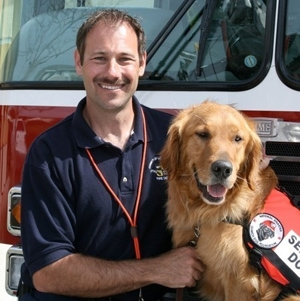 L.A. Firefighters, Dogs Participate in Japan's Rescue Efforts