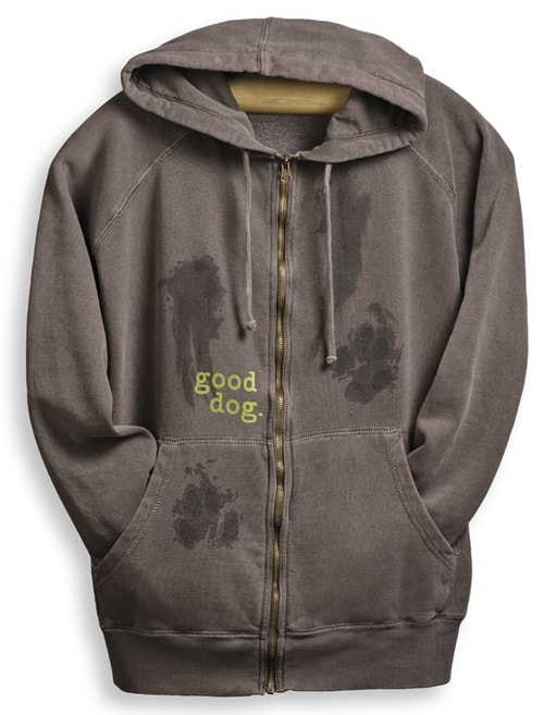 Giveaway: Roll Over Rover Threads Good Dog Zip-up Hoodie