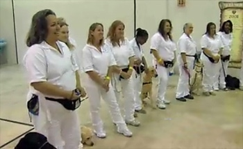 Inmates Train Service Dogs for Vets