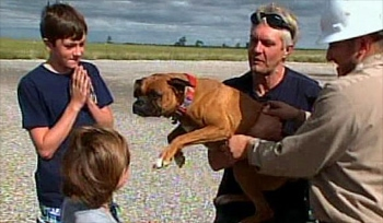 Happy Homecoming for Dog Carried Away by Tornado