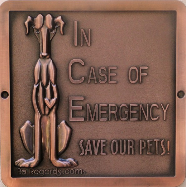 Giveaway: Bo Regards Fire Safety Wall Plaque