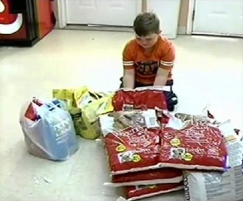 Six-year-old Gives up Birthday Presents to Help Shelter Animals
