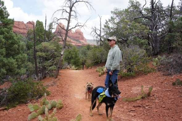 On The Trail in Sedona, Arizona