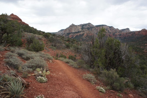 Trail in Sedona, Arizona
