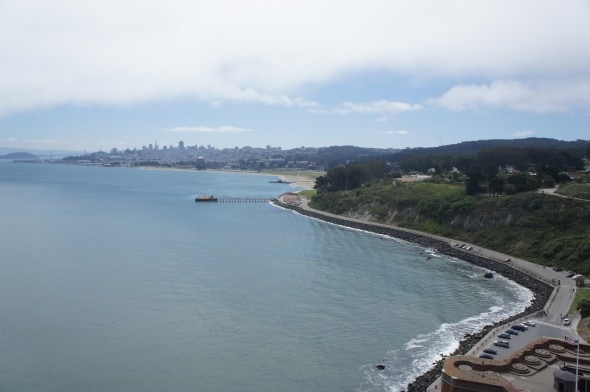 View from Golden Gate 2