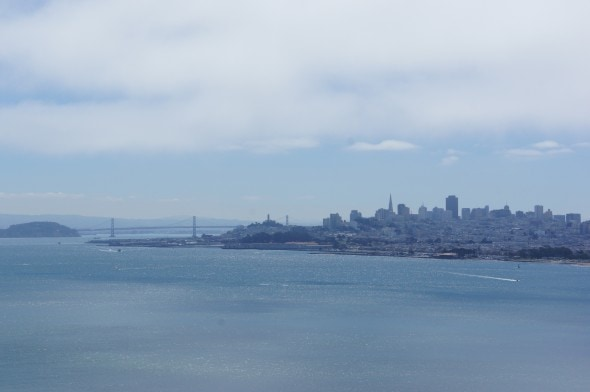 View from Golden Gate 1