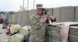 US Soldiers Rescue War Dogs