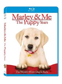 Giveaway: Marley & Me: The Puppy Years – DVD