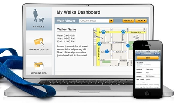 Pet Check Technology™ Provides Peace of Mind for Customers of Dog Walking Services