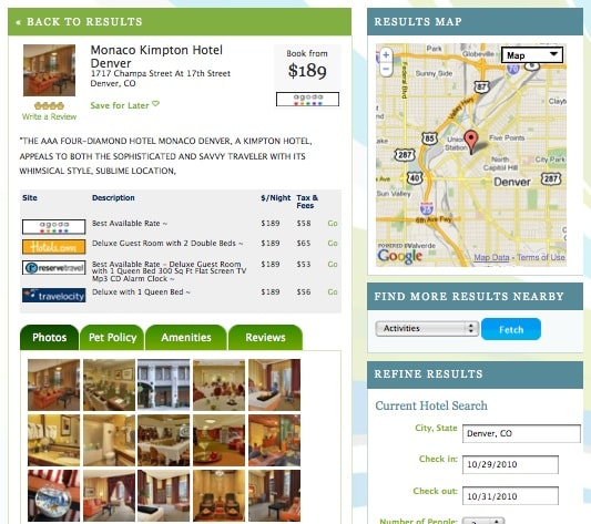 Finding Pet Friendly Hotels