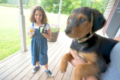 Handmade Dog Toys are Labor of Love for 10 Year Old