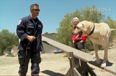 CNN Hero Wilma Melville: What Makes a Good Search Dog
