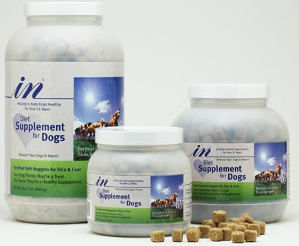 Giveaway: IN® Diet Supplement for Dogs
