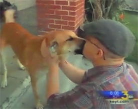 Thanksgiving Surprise: Marine Reunited With His Adopted Dog From Afghanistan