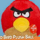 Red Plush Dog Toy