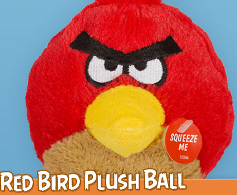 Giveaway: Angry Birds Dog Toys