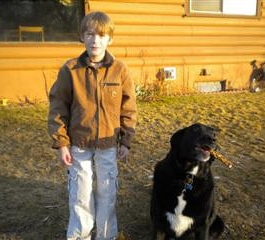 Ten Year Old Boy Saves Neighbor's Dog From Drowning