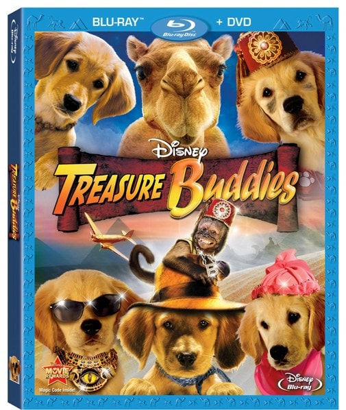 Giveaway: Disney's Treasure Buddies DVD