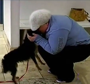 Emotional Reunion of Lost Dog and Owner After 4 Year Separation