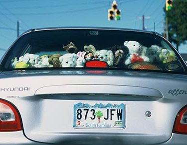 UK Police Break Into Sweltering Car to Rescue Stuffed Animal