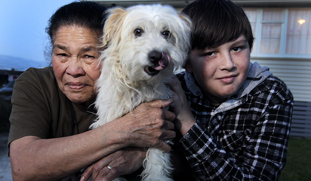 12 Year Old Hero Saves Dog from Attack by Abusers