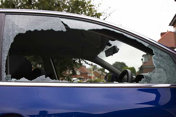 What would you say to somebody who just smashed the window of your car ...