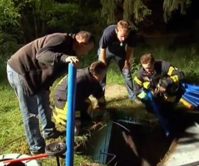 Firefighters Rescue Jack Russell Terrier Trapped Underground