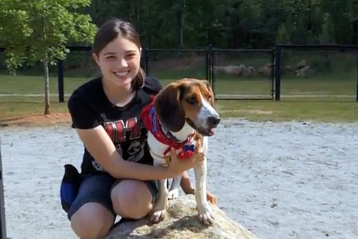 Inspired by Rescue, Teen Gives Shelter Dogs a Second Chance