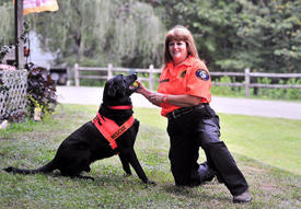 Black Lab Wins Award for Search and Rescue Dog of the Year