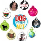 Dog Tag Art – Custom Pet Tag Giveaway