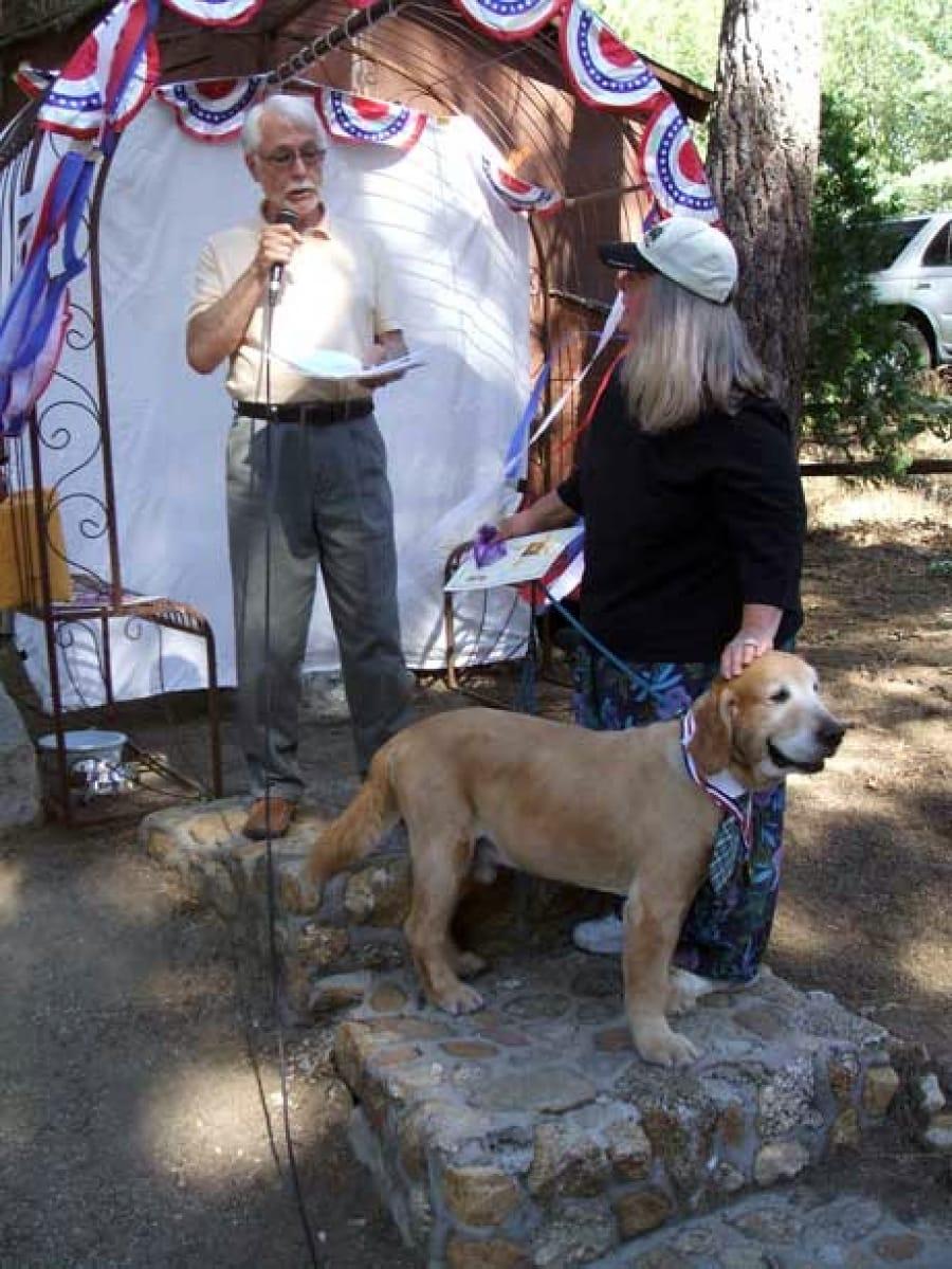 Dog Lovers Rejoice Over Idyllwild's New Mayor