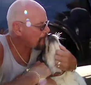Bay Area Man Reunited with Lost Dog, Befriends Rescuer