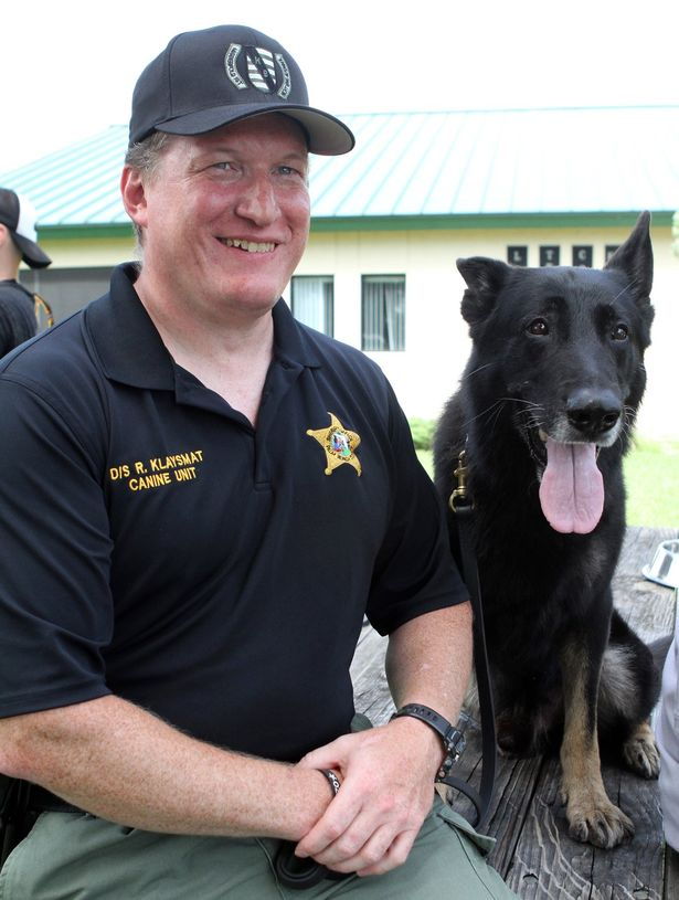 Wounded in Line of Duty, K-9 Kenzo Returns to Hero's Welcome