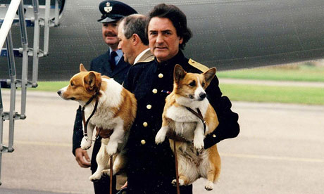 The Queen's Corgis Attack Visiting Canine Royalty