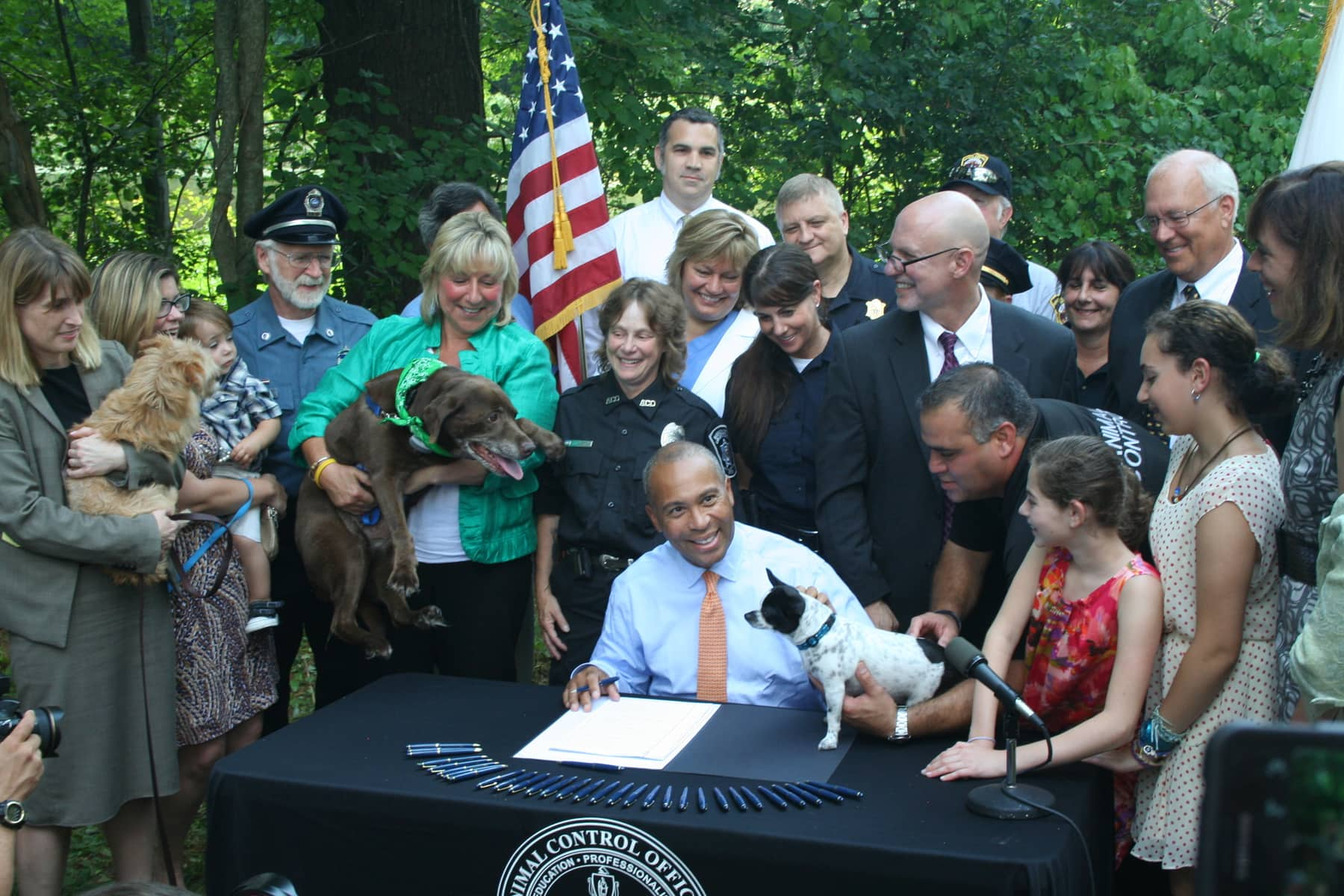 MSPCA-Angell Joins Governor Deval Patrick for Signing of Landmark Animal Welfare Legislation