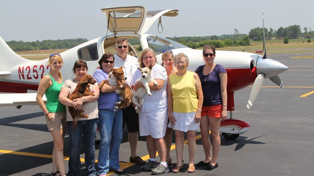 Volunteer Pilot Rescues Dogs From High Kill Shelters