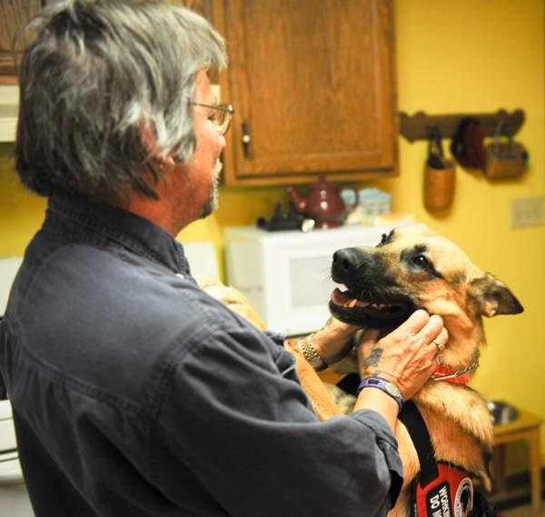 Service Dog Enriches Alzheimer's Patient's Life