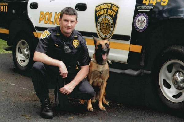 Slain Police Officer's K-9 partner Retired and Given to Family
