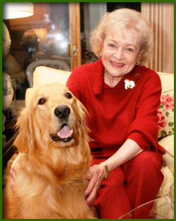 Betty White Auctions a Date to Help Homeless Animals and is Honored for Animal Charity Work