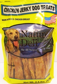 FDA Warns Against Nature's Deli Chicken Jerky Dog Treats
