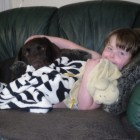 An autistic child find independence thanks to her dog