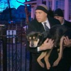 Newark Mayor Helps Rescue Frozen Dog