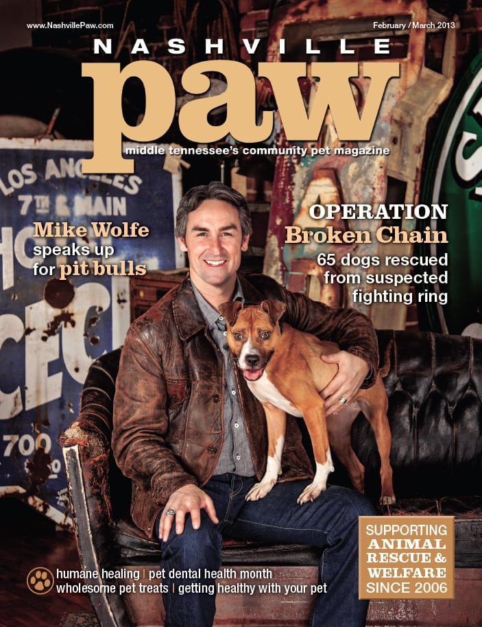 American Pickers Star Mike Wolfe Speaks up for Pit Bulls
