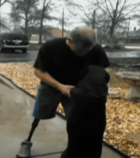 Missing service dog found and reunited with owner