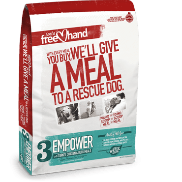 FreeHand Dog Food is on a mission to help shelter dogs