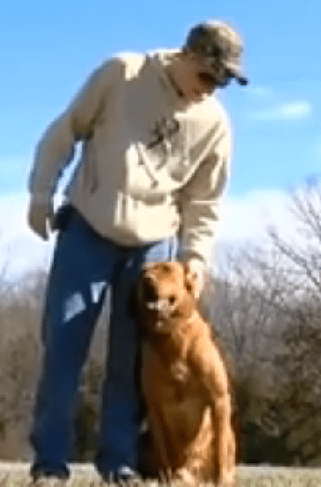 Dog detects cancer in owner and helps save his life
