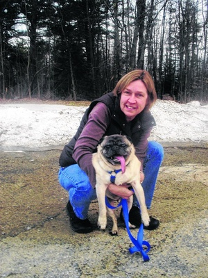 Valiant Rescuer Goes Above and Beyond to Save Nearly Blind Pug